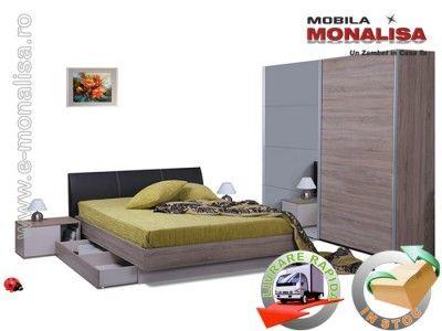 Mobila Dormitor Favorit | Dormitor cu Usi Glisante | Pret Fabrica