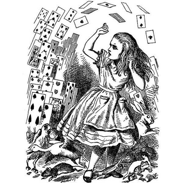 58 best Alice in wonderland coloring pages(We\'re all mad here ...