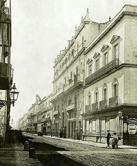 Palacio Iturbide. 1880