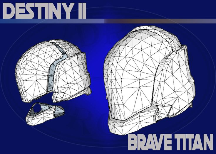 Excited to share the latest addition to my #etsy shop: Titan Brave Helmet from Destiny 2 Cosplay Pepakura Template .PDO .PDF Files http://etsy.me/2DBVyQp #destiny #destiny2 #cosplay #pepakura #helmet #armour #armor