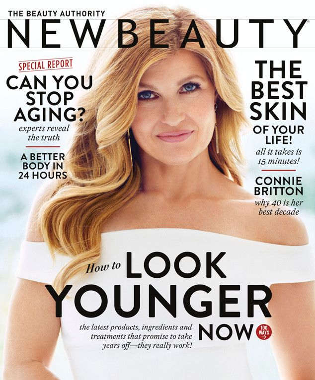 Connie Britton Shares Hair Secrets and Opens Up About Aging in New Beauty—Get the Scoop!  Connie Britton, New Beauty, Magazine