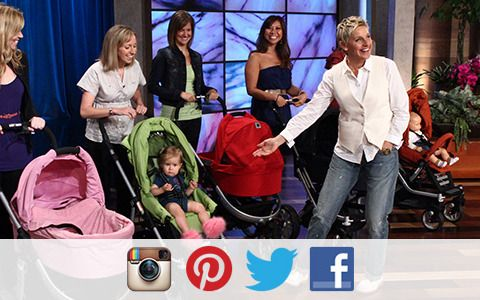 Calling all first-time pregnant moms! You can win tickets to Ellen's Mothers Day Show 4 different ways! OnInstagram, onPinterest, onTwitterand onFacebook! Make sure you're following Ellen on all of those sites to make sure…