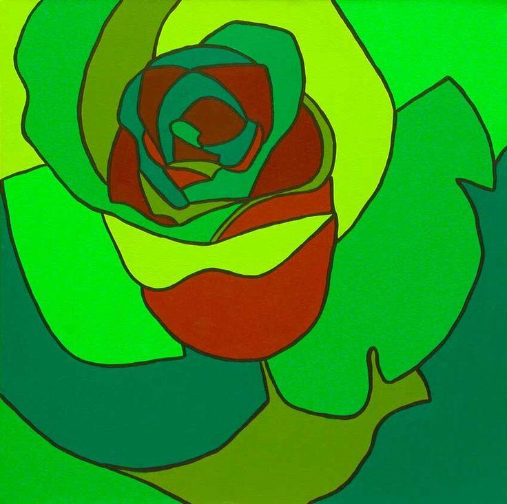 Rosa Verde y Café 1