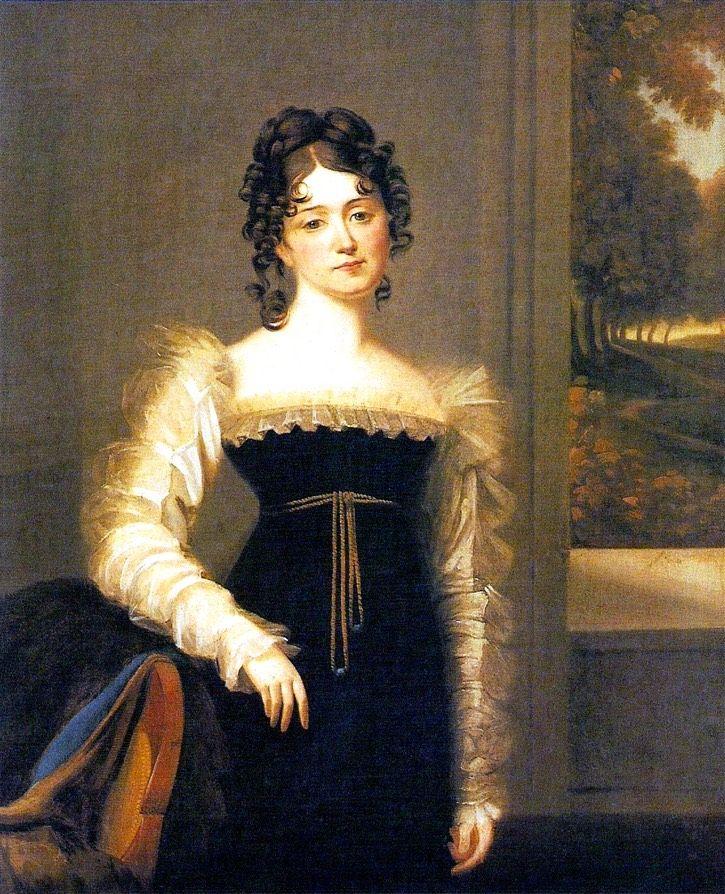 Polish Countess Zofia Zamoyska nee Czartoryska (1779-1837) by ? (Muzeum Czartoryskich w Puławach - Puławy, województwo lubelskie, Poland) | Grand Ladies | gogm