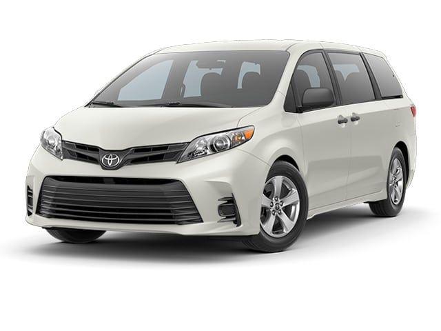2018 Toyota Sienna Van Blizzard Pearl