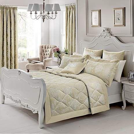 http://www.dunelm.com/product/dorma-cream-clara-quilted-bedspread-1000050359