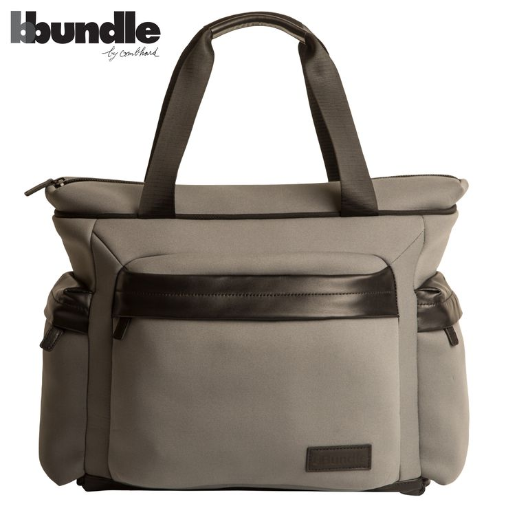 BBundle by Combhard, Shoppy bag  neoprene and leather