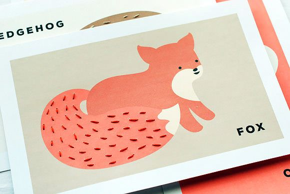 Free Printable Animal Sewing Cards For Kids | Handmade Charlotte