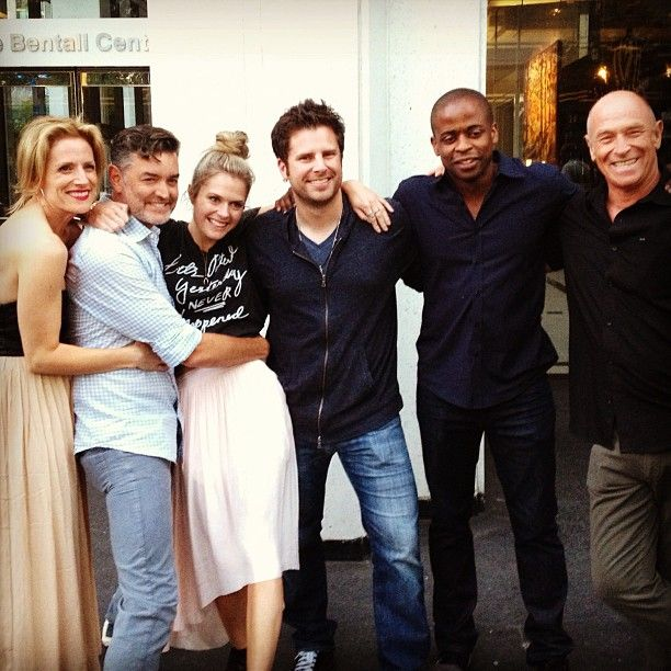 psych actors dating in real life