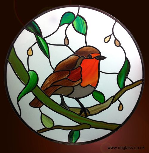 birds stained glass patterns - Bing Imágenes