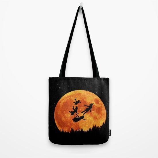 Take Me To Neverland Tote Bag
