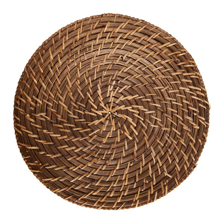 RATTAN ROUND PLACEMAT  - NATURAL