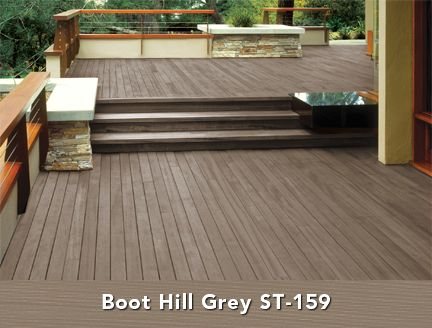Behr Semi Transpa Wood Stain In Boot Hill Grey Deck Ideas 2018 Pinterest Colors And