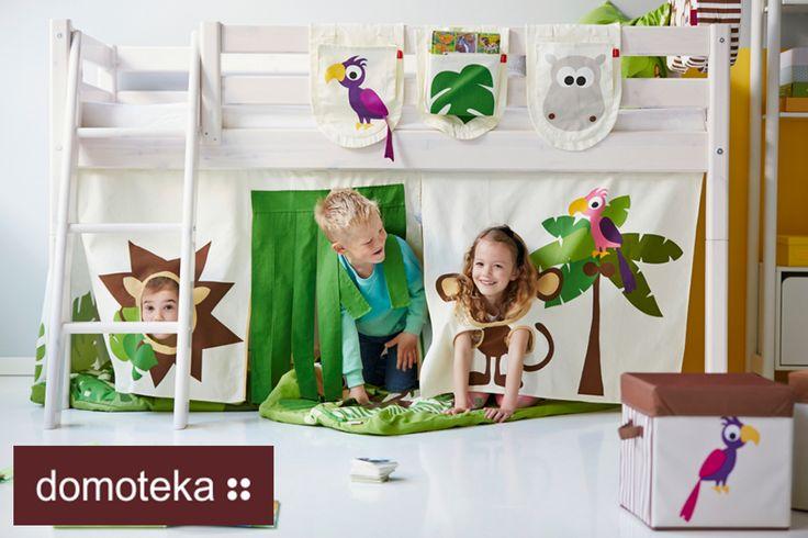 Twoje maluchy chętnie zamieniłyby swój pokój w bajkową dżunglę? Flexa spełni to marzenie!