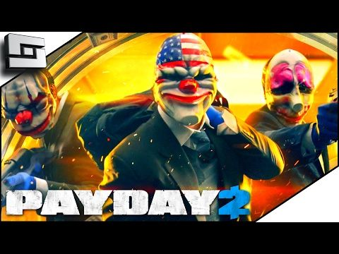 nice Payday 2 Gameplay - HOT BACK DOOR ACTION! (Funny Moments)