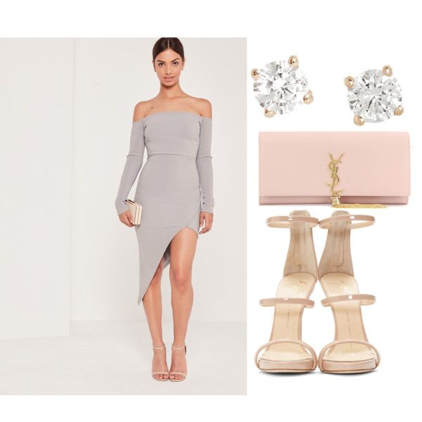 Untitled #1764 by tasha-d on Polyvore featuring Missguided, Giuseppe Zanotti, Yves Saint Laurent and Anita Ko