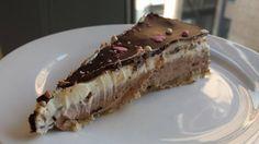 sukkerfri kake som enkelt kan gjøres vegansk. Voksen smak som passer til kaffe