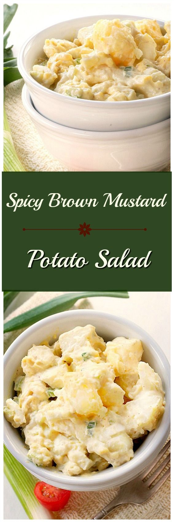 Put a little zing into your summer salad rotation with Spicy Mustard Potato Salad.
