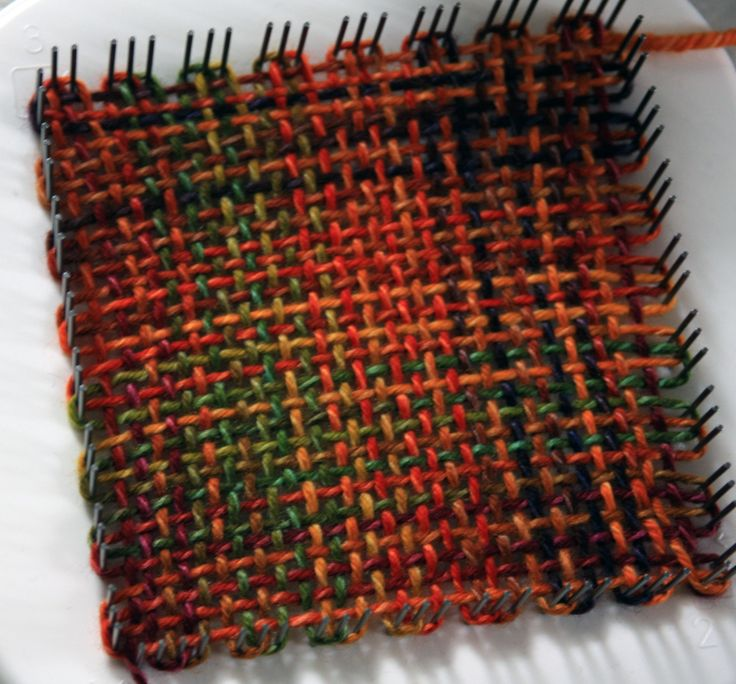 Pin Loom Weaving with Meg Stump