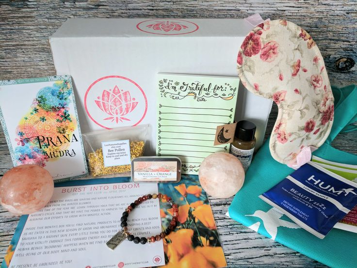 Off the Mat Club is a yoga lifestyle subscription box – 6 to 8 full-size goodies curated by yogis every month! Read my April 2017 review for details!   Off the Mat Club Subscription Box Review + Coupon - April 2017 →  https://hellosubscription.com/2017/04/off-mat-club-subscription-box-april-2017/ #OffTheMatClub  #subscriptionbox