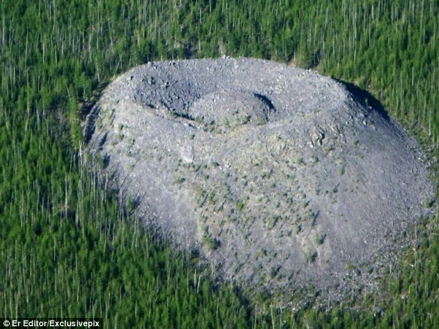 When one geologist stumbled across a massive mound 65 years ago, he had no idea his discovery would spark one of the world's strangest scientific mysteries.  The site in Irkutsk, Siberia was discov-ered in 1949 & is a huge convex cone w/ a funnel-shaped recess & a rounded hill in the middle, which looks a little like an eagle's nest w/an egg nestled inside it.  The origin of the Patomskiy crater has baffled scientists for decades