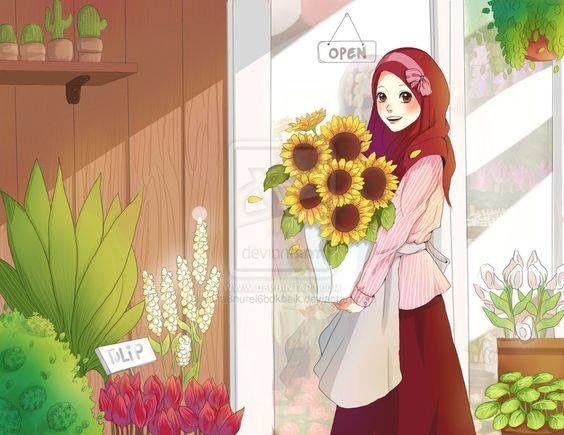 Hijabi Anime