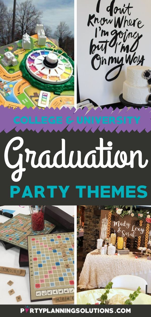 Celebrate Good Times With Great Graduation Party Themes Graduation Party Themes Party Themes Graduation Party