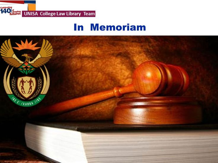 In September 2013, the Unisa Library College Team for Law honoured two legal legends who recently passed away. The title of the display was: In Memoriam: Arthur Chaskalson (1931-2012) and Pius N Langa (1939-2013).
