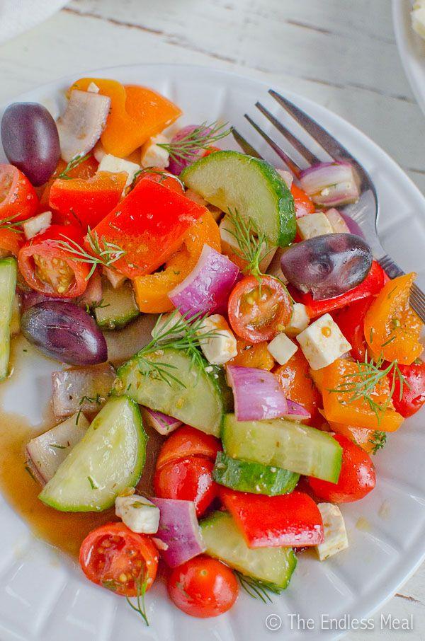 Greek fruit salad recipes easy