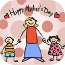 Mother's Day Coloring Pages to online paint and black and white pictures for free coloring, Mother's Day coloring pages to color now!