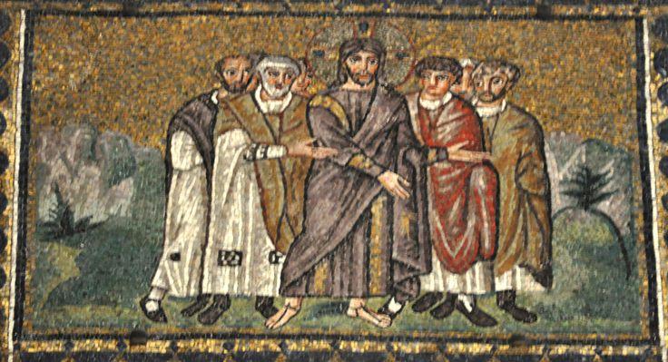 The Arrest of Jesus Church of Sant'Apollinare Nuovo, Ravenna