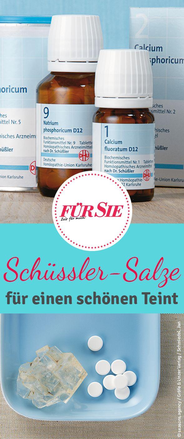 Nutzt die die Kraft der Natur: Die Mineralsalz-Therapie von Dr. Schüßler pflegt und verwöhnt die Haut, lässt den Teint strahlen und beseitigt Unreinheiten.