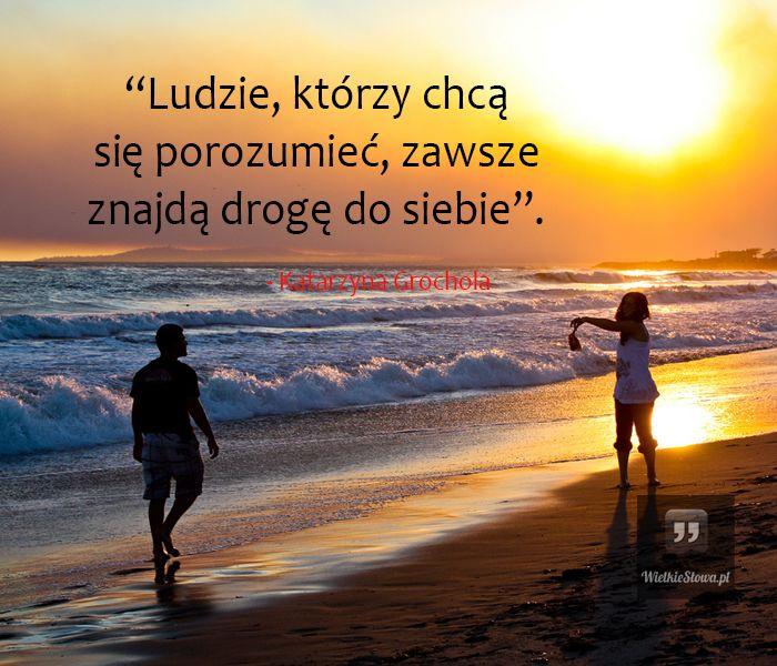 Ludzie, którzy chcą się porozumieć... #Grochola-Katarzyna, #Człowiek…