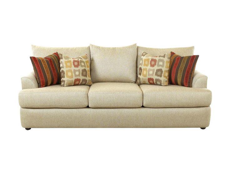 Klaussner Living Room Findley Sofa K56830 S   Klaussner Home Furnishings    Asheboro, North Carolina