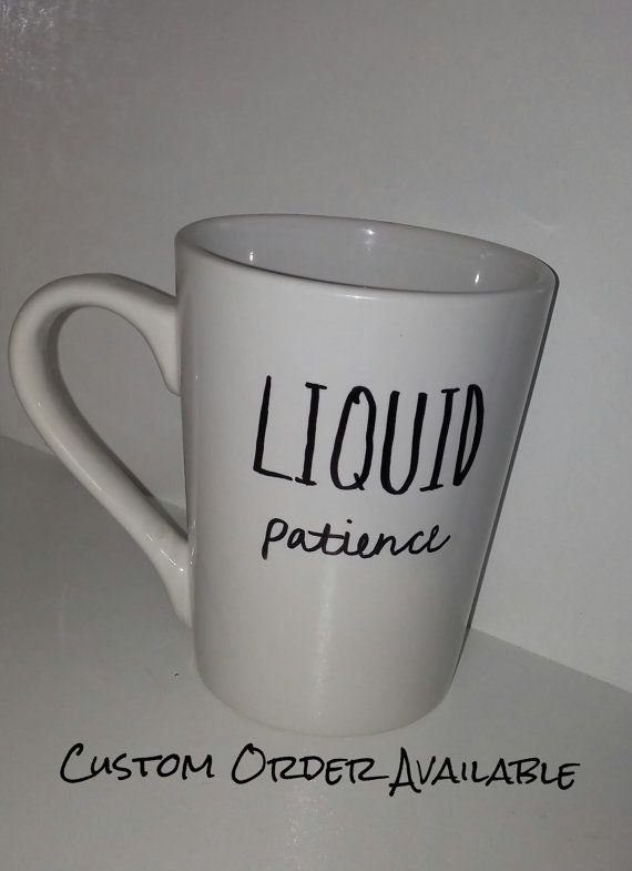 This unique 12oz mug is available for purchase but I also take custom orders. This is handwritten and cured for top rack dishwasher only, do not