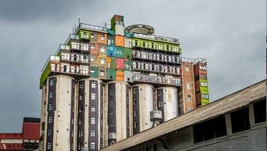 Mothballed grain silo reborn as student housing in South Africa | MNN - Mother Nature Network