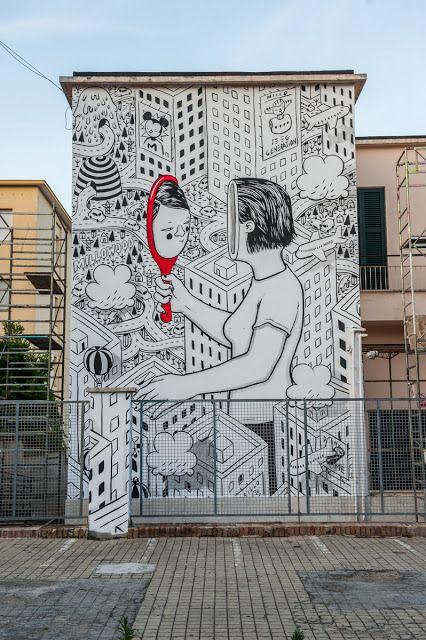 Millo creates – New Mural for Memorie Urbane |