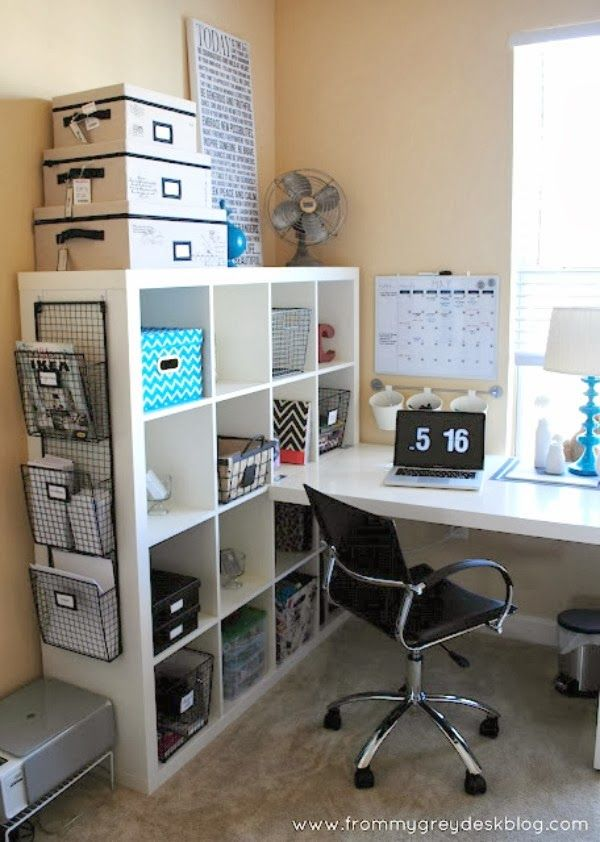 Ikea Expedit Home Office best 25+ ikea office organization ideas on pinterest | wall file