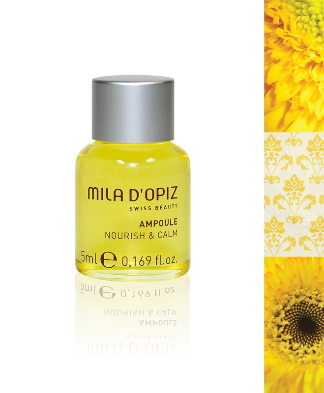 Mila d'Opiz Australia - Concentrate Collection Nourish & Calm. Oily texture ideal for long massages. Regenerates skin & is suitable for all ages.