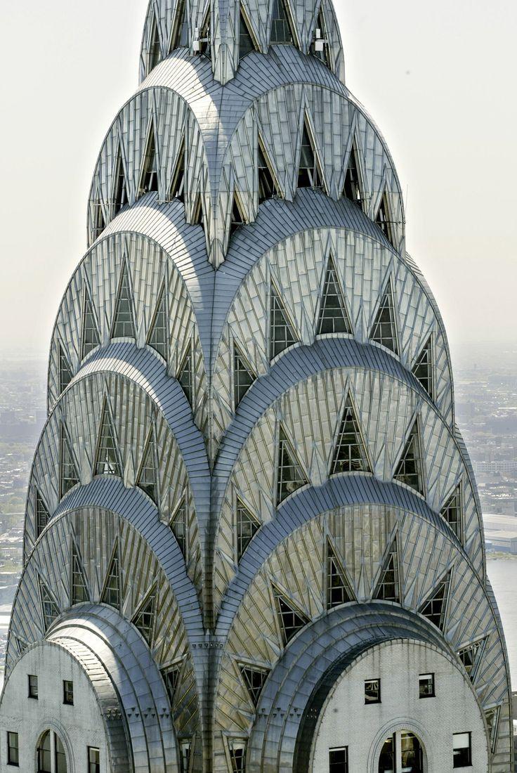 Chysler Building Spire Chrysler Building New York