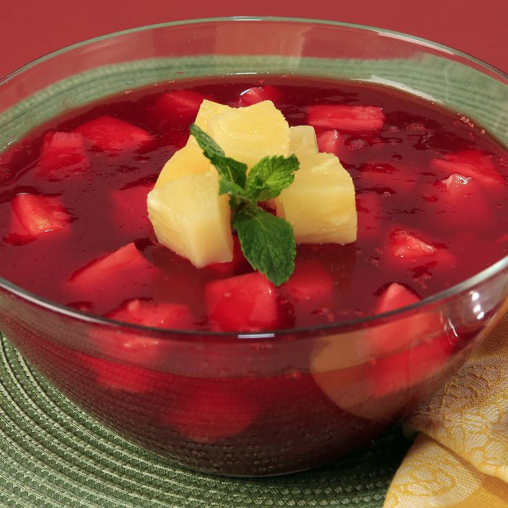 Cherry Pineapple Delight   Dessert   Recipes   Dole Packaged Foods