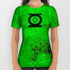 Green Lantern All Over Print Shirt
