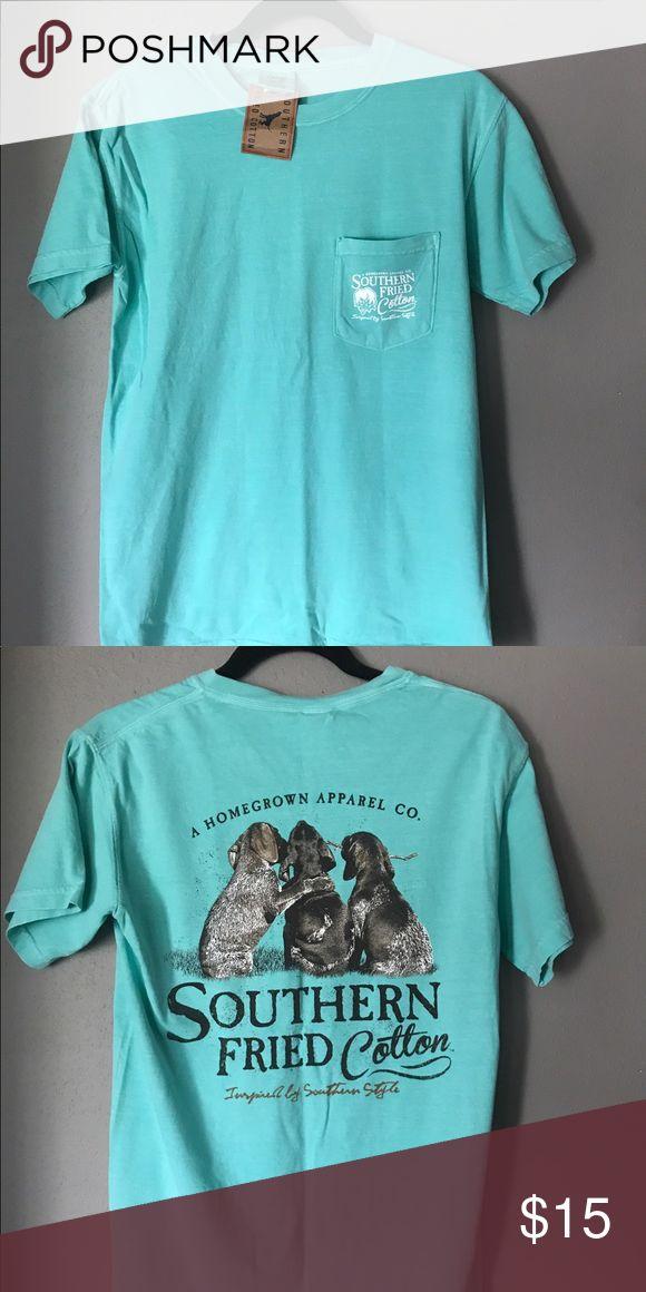 "Southern Fried Cotton - ""Best Friends"" T-Shirt Mint Green, small T-shirt Southern Fried Cotton Shirts Tees - Short Sleeve"