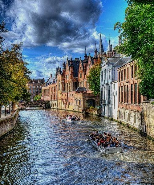 Amazing Places To Go Europe: 45 Best Bruges Images On Pinterest