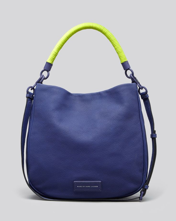 Marc by marc jacobs Hobo Too Hot To Handle in Blue (Deep Ultraviolet Multi) | Lyst