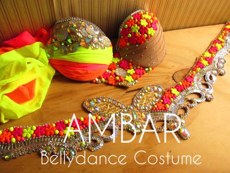 Butterfly Bellydance Costume