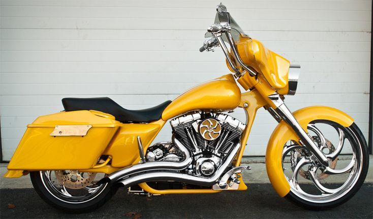 2014 Harley Davidson Street Glide >> Harley Davidson - Custom Rake by HHI http://hawghalters.com | HHI (My DayjoB) | Pinterest ...