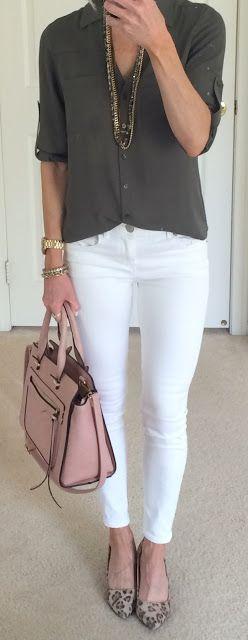 Black Moto Jacket + Stripe Tee Jacket: Express | Jeans: Express | Tee: Target | Shoes: Target ( Similar ) | Necklace: Express | Bag:...
