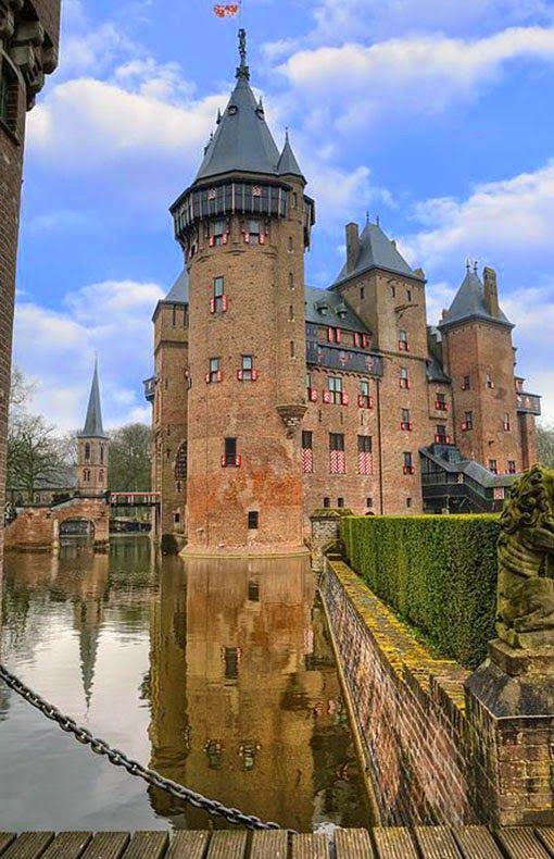 Kasteel De Haar, nabij Haarzuilens, Utrecht, The Netherlands