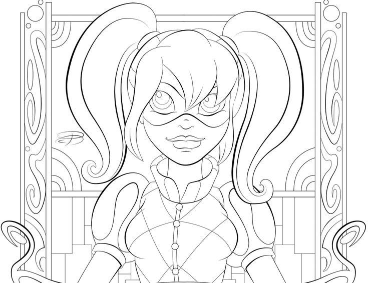 7 best dc super hero girls images on pinterest dc super heroes superheroes and colouring pages - Superhero Girl Coloring Pages